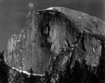 Moonrise, Half Dome